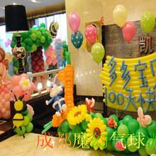 儿童派对策划宝宝满月百日百天气球装饰布置,生日宴布置气球,学校活动布置气球,家庭派对布置气球
