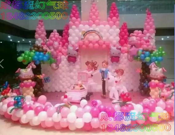 成都婚礼飘空气球批发氦气球装饰安全氦气球配送,宝宝宴气球布置,百日宴气球布置,儿童周岁生日宴布置,家庭派对布置气球