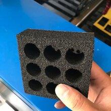 供应六公分吸音棉激光切割机包装材料海绵泡棉激光雕刻机无毛刺图片