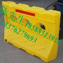 斗门珠海滚塑水马制作厂家,东莞莞城塑料围挡栅栏制作图片