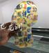 水晶鞋底图案定制UV喷墨印刷机高落差UV平板打印机