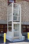 台州液压家用电梯残疾人升降平台液压升降机图片