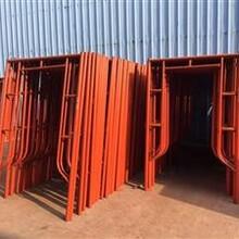 惠州仲恺博罗门式钢管架批发-移动脚手架出售图片