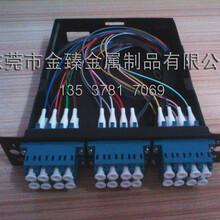 供应SC、FC、ST型8口全配光纤终端盒