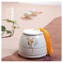 逸德陶瓷专业定制陶瓷茶叶罐储存罐陶瓷罐