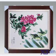 景德镇厂家定做瓷版画高档手绘瓷版画