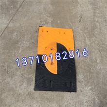 道路标志牌道路减速设备施工防撞条橡胶减速带线槽板