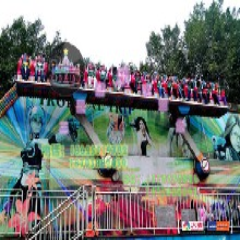 郑州三星公园游乐设备(YGPPZ-16)摇滚排排坐庙会游乐设备放心省心