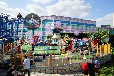 河南三星大型游乐设备生产厂家生产公园游乐设备翻滚音乐船16年的新品推出