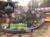 郑州三星中型游乐设备水陆战车儿童游乐设备行业领先