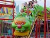 三星厂家直销儿童游乐设备青虫滑车QCHC价格图片