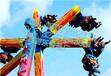 厦门三星新型户外游乐设备风火轮参数图片