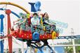 大连三星20人冲浪旋艇轨道游乐设备广场公园游乐设备回本快