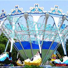 儿童游乐园设备超级秋千CJQQ三星儿童设备值得加盟图片