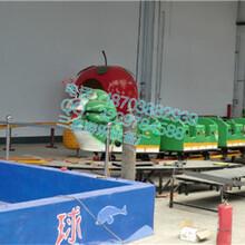 游乐园的游乐设施项目青虫滑车QCHC三星产量高图片