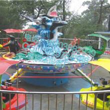 游乐场设备厂家三星供应新款儿童游乐设备激战鲨鱼岛JZSYD图片
