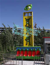 游乐设备最新最全面的青蛙跳跳楼机新型游乐设备报价图片