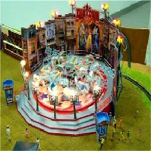 大型游乐设施定制游乐园设备星际探险三星优质厂家生产图片