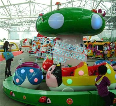 广场小型游乐设施三星新型游乐设备瓢虫乐园爆款