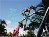 喀什大型外贸游乐设备风火轮极速风车飞龟订单不断受欢迎