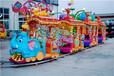 淄博有轨无轨小火车/儿童游乐设备大象小火车