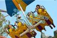 户外公园游乐设备风筝飞行制作精美色泽鲜亮