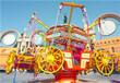 公园游乐场设备批发三星摩登时代/豪华转马旋转类儿童游乐设备