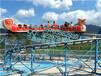 三星誠信推薦中型游樂設備滑行龍HXL18人性價比高游樂場設備