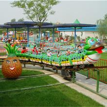 美好的生活从河南三星游乐设备开始/青虫滑车轨道游乐设备图片