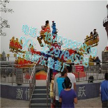 TTJ/18人质量精良弹跳类大型游乐设备好玩的弹跳机游乐设备三星大量供应