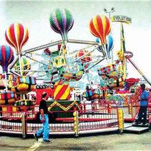 新奇又刺激的桑巴气球大型游乐设备尖叫声不断