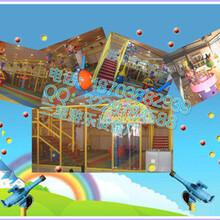 户外儿童游乐设备HLZC美观实用三星新型游乐设备款式齐全图片