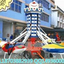 厂家直销超级好玩的自控飞机孩子喜欢地儿童游乐设备三星供应图片