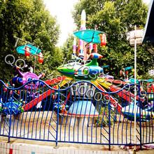 低价促销三星广场游乐场设备自控飞机图片