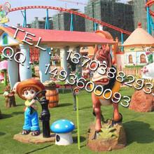 公园游乐场设备加工订制河南三星儿童新型游乐设备欢乐农场图片