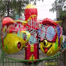 广场公园游乐设备大眼飞机欢乐开怀儿童玩的游乐设备新项目