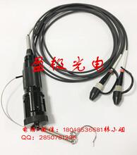 盈極光電YGⅢ型2芯活動連接器光纖連接器野戰光纜連接器圖片