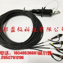 4芯野战光缆快速连接器法兰图片