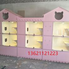 猫咪别墅笼,龙猫别墅柜笼寄养柜笼田园式散养笼厂家定做