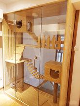 貓籠貓別墅寵物公寓貓屋窩貓咪展示柜廠家定制包郵貓籠圖片