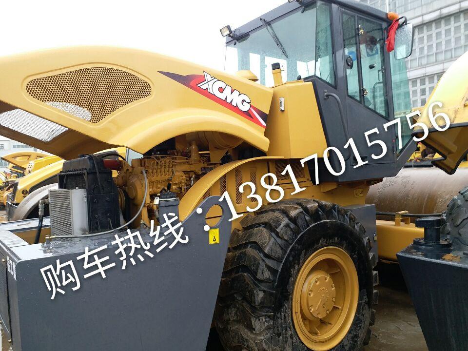 出售徐工震动压路机26吨柳工震动压路机26吨9成新