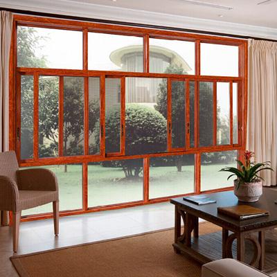 佛山封阳台断桥铝门窗平开窗130断桥推拉窗铝合金窗户落地窗