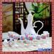 陶瓷酒具套装青花白酒酒具套装定制仿古酒壶中式家用白酒烈酒杯