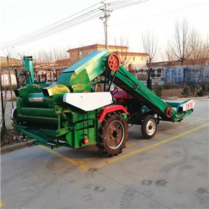 北京拖拉机后悬挂式玉米脱粒机自动上料玉米脱粒机价格