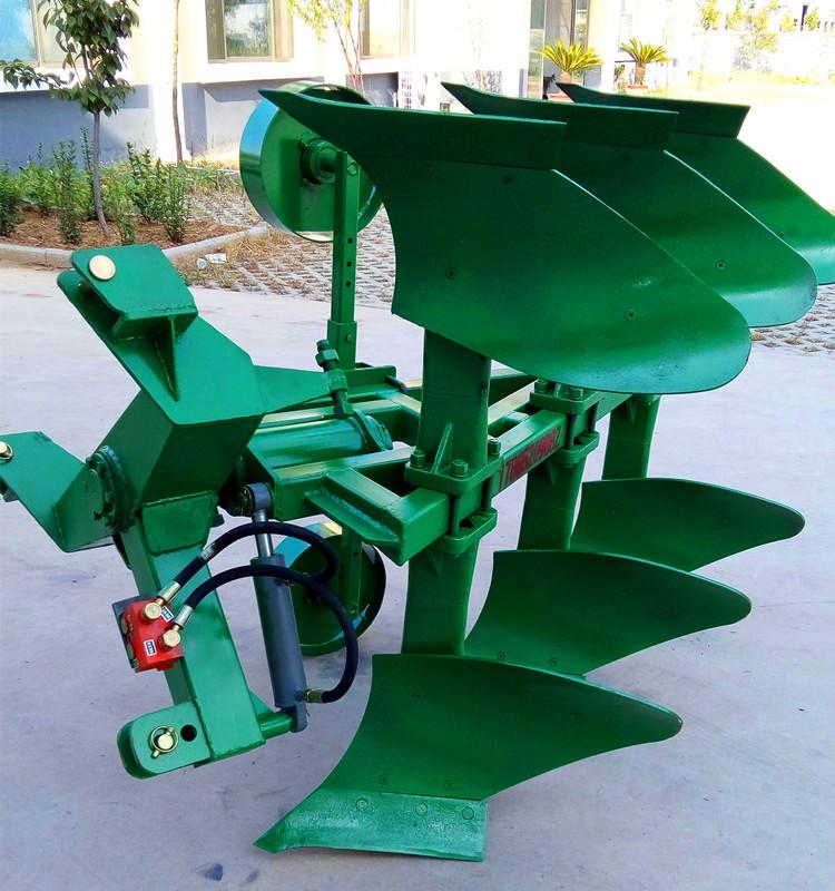 阜新拖拉机牵引液压翻转犁农用牵引大型耕田机