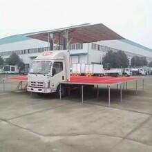 国五东风多利卡舞台车4米2流动舞台车图片