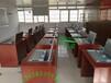珠海边框翻转电脑桌,培训室双人电脑桌,微机室电脑翻转桌,会计培训机构电脑桌