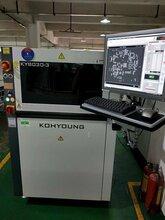 2017年高永KOHYOUNG在线3DSPI锡膏厚度检查机KY-8030-3