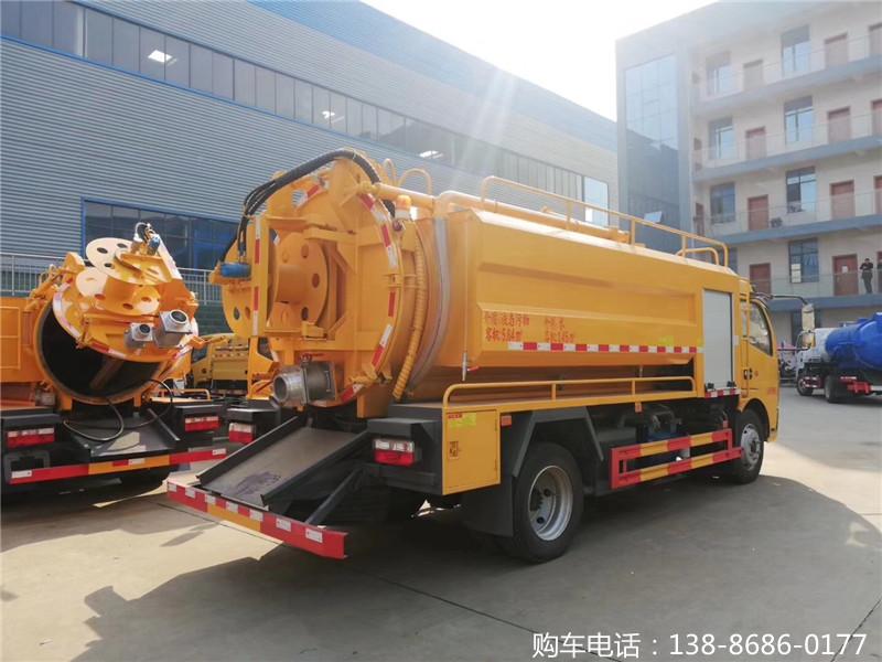 天津清洗吸污车多少钱一辆?