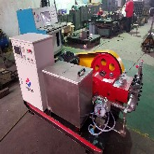 鍋爐專用大流量試壓泵,電動打壓泵,數控試壓泵供貨廠家批發計算機控制試壓泵圖片